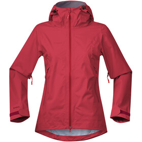 Bergans Letto Jacket Dame red/fire red